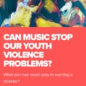 "Nation of Billions and Funk Butcher ask ""how can music aid the struggle against youth violence?"""